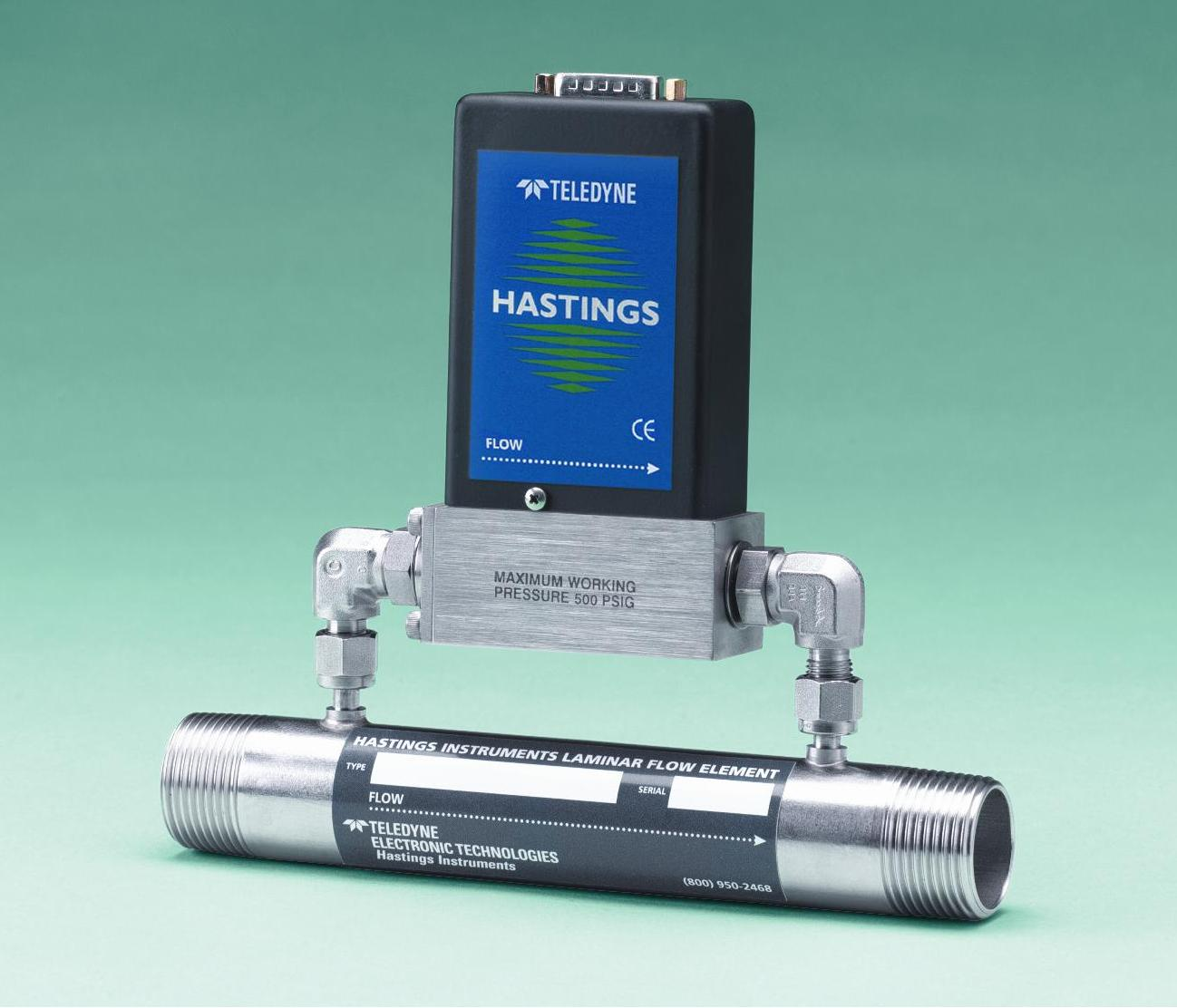 HFM-200 Mass Flow Meter with Laminar Flow Element