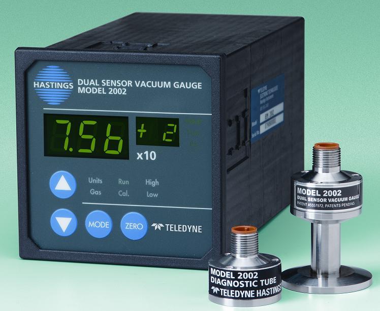 HPM-2002 Dual Sensor Vacuum Gauge