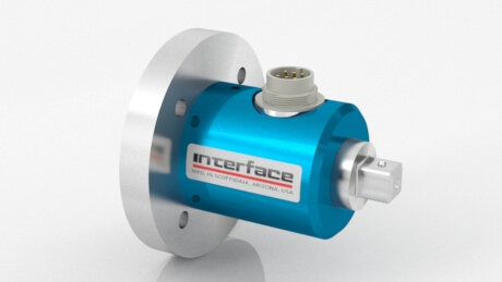 TS16 Square Drive to Flange Reaction Torque Transducer