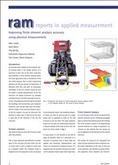 Improving finite element analysis accuracy using physical measurements
