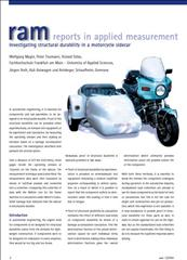 Investigating structural durability in a motorcycle sidecar