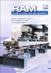 Long-term measurements of strains with strain-gauges