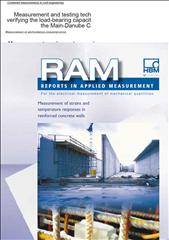 Measurement of strain in reinforced concrete walls