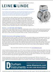 Encoders increase security in wind turbines