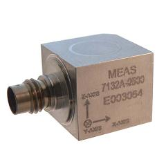 TE 7132A and 7132B Triaxial IEPE Accelerometer