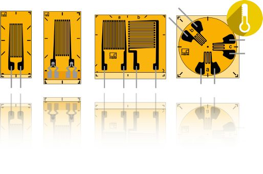 C Series Strain Gauges for Extreme Temperature