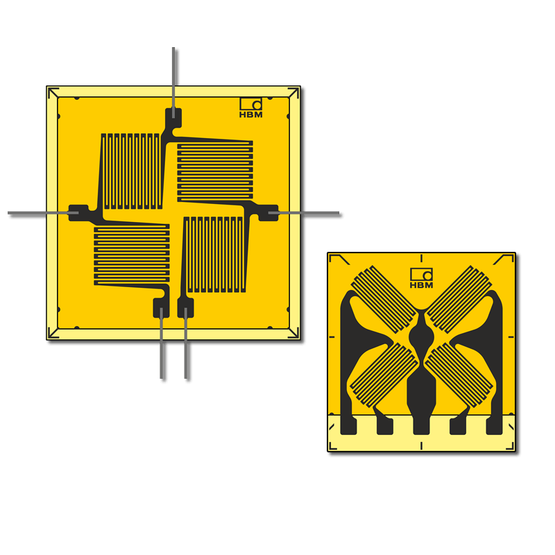 VY Full Bridge Strain Gauges With 4 Measuring Grids