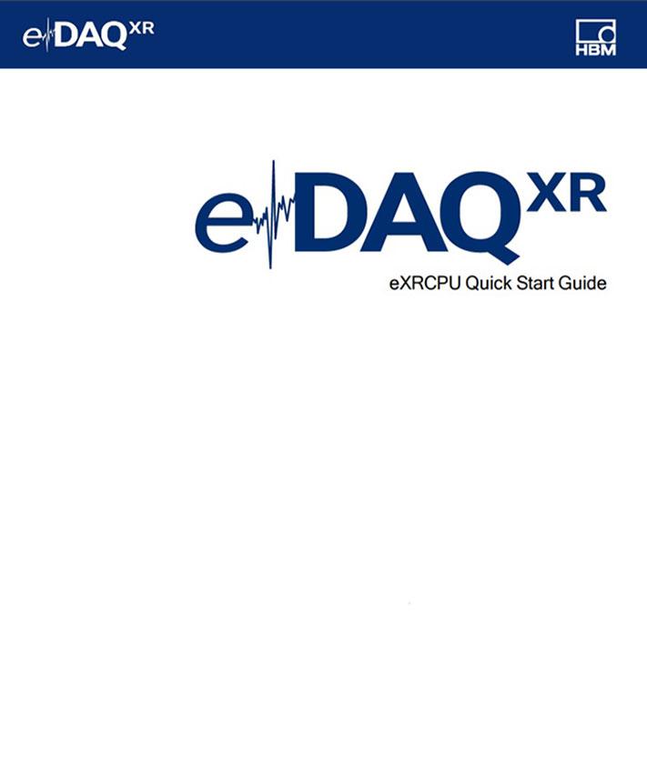eDAQXR – EXRCPU Quick Start Guide