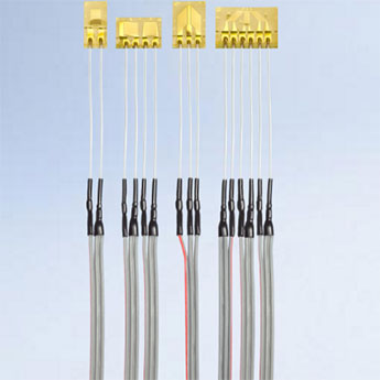 Pre-Wired Strain Gauges