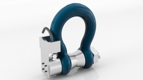 ATEX Bow Type Crosby™ Cabled Load Shackle
