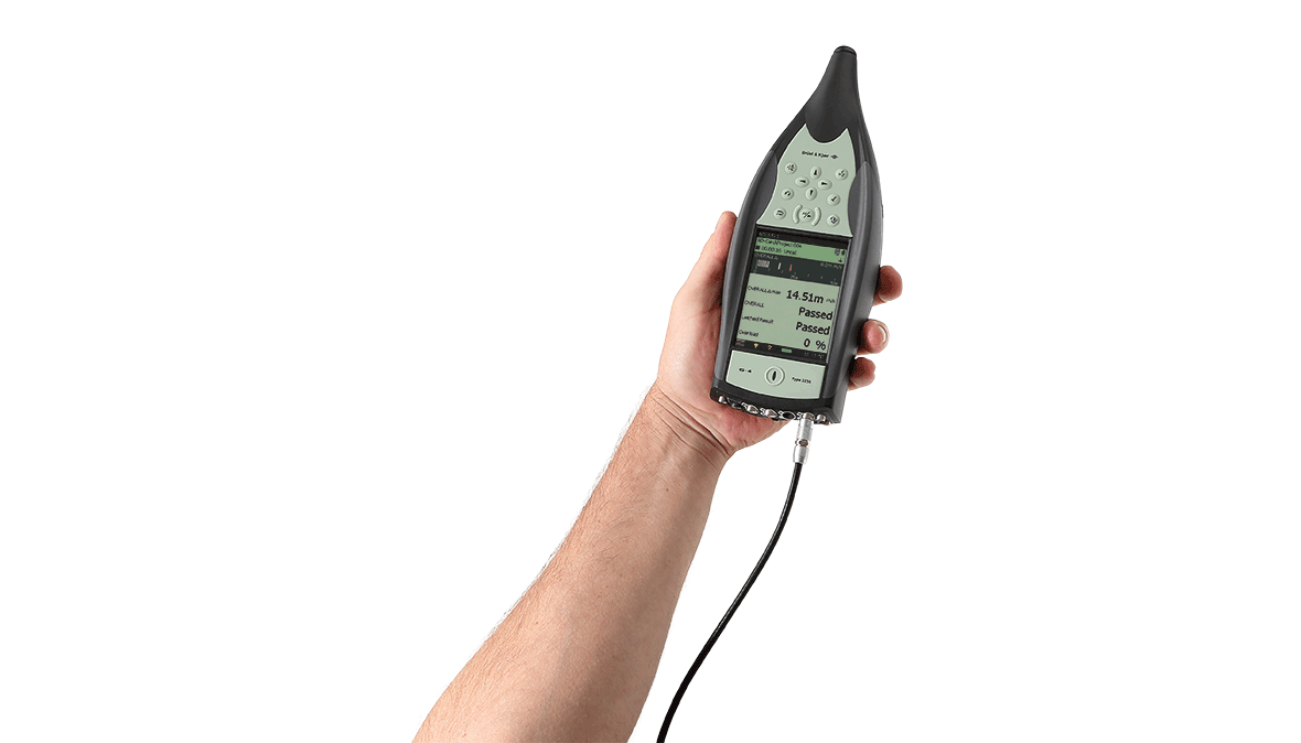 Type 2250-W  Hand-Held Analyzer Without Preamplifier And Microphone