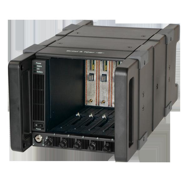 Type 3660-C  5-Modules LAN-XI Frame