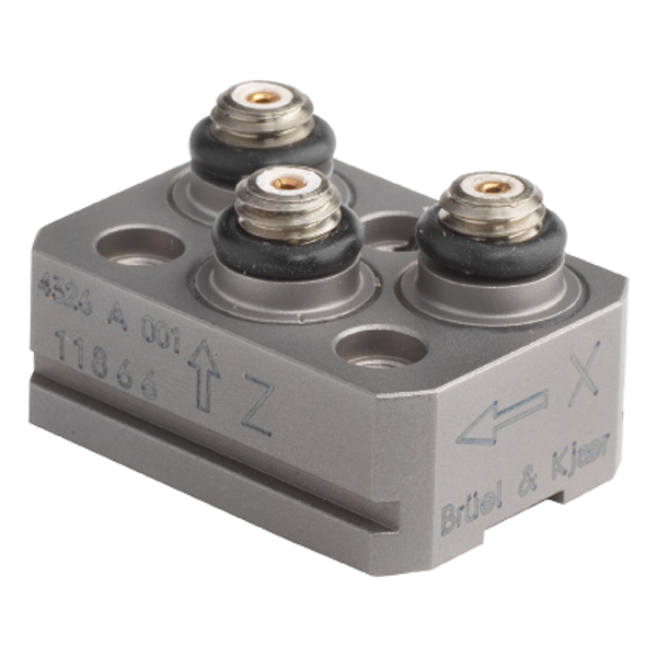 B&K Type 4326-A-001  Miniature Triaxial Piezoelectric Charge Accelerometer, With Slots, Excl. Cable