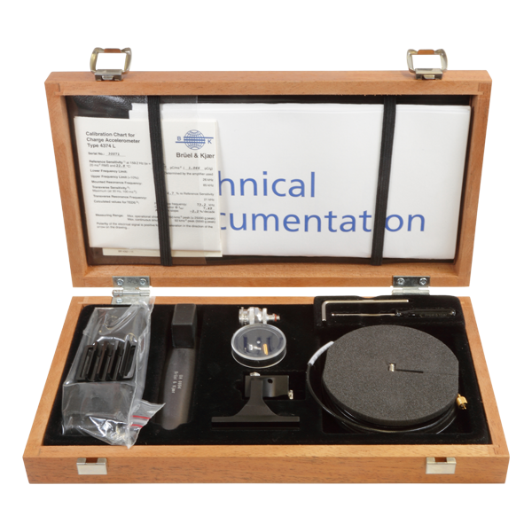 B&K Type 4392 Hand-Arm Vibration Transducer Set, Includes One Miniature Accelerometer Type 4374