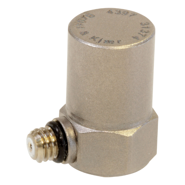 B&K Type 4397-A  Miniature Piezoelectric CCLD Accelerometer, Side Connector, Excl. Cable