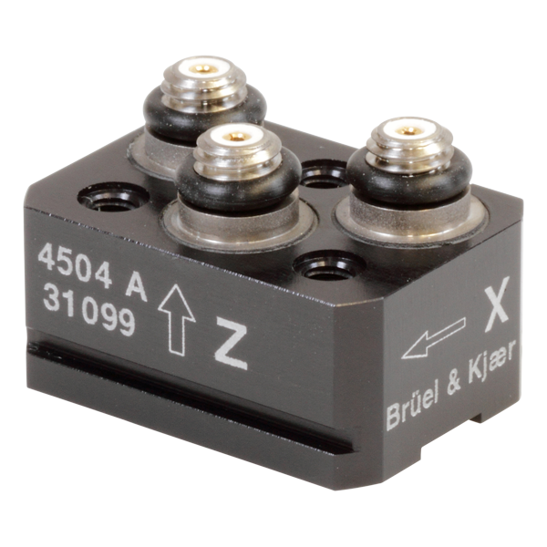 B&K Type 4504-A  Triaxial Piezoelectric CCLD Accelerometer, Excl. Cable