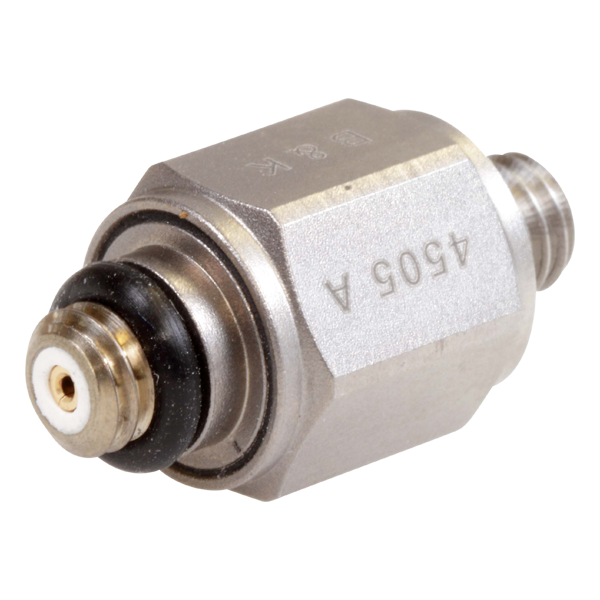 B&K Type 4505-A Piezoelectric Charge Accelerometer, Top Connector, Excl. Cable