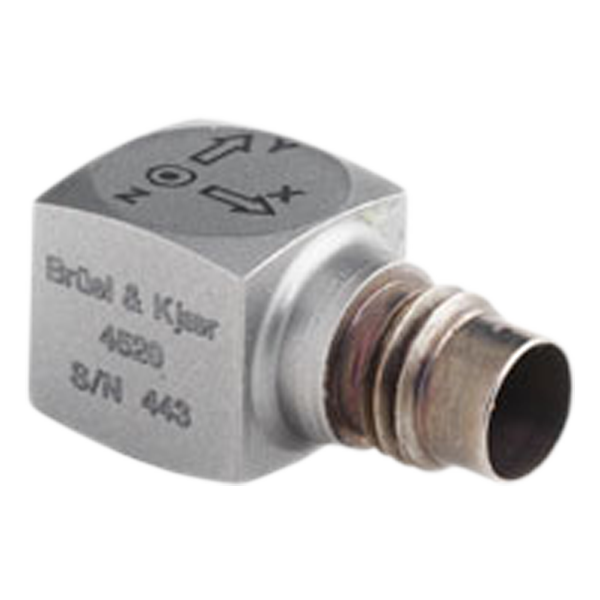 B&K TYPE 4520  Miniature Cubic Triaxial CCLD Accelerometer, 10 MV/G