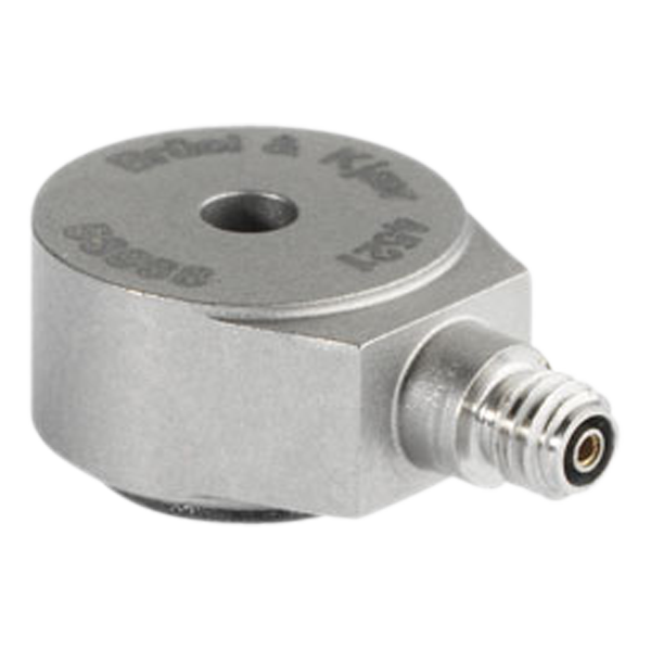 B&K Type 4521  Miniature Centerbolt CCLD Accelerometer, 10 MV/G, Side Connector, Excl. Cable