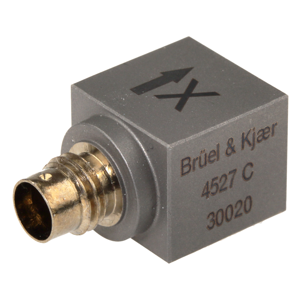 B&K Type 4527-C  Triaxial Charge Accelerometer