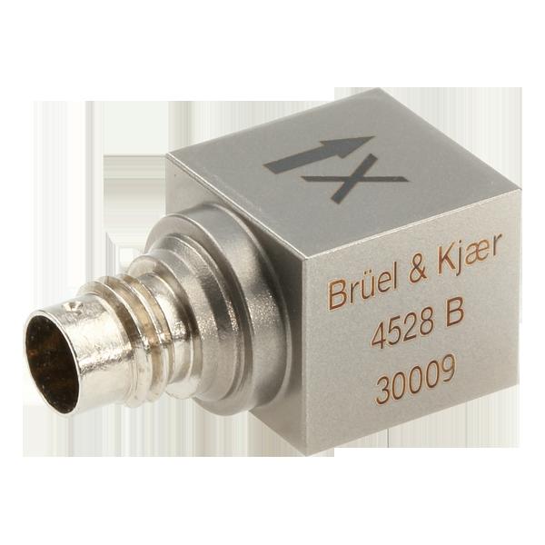 B&K Type 4528-B  Triax Accelerometer 10 MV/G W TEDS