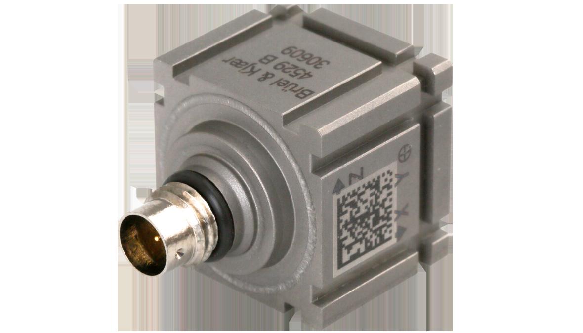 B&K Type 4529-B-001 Triaxial CCLD Accelerometer