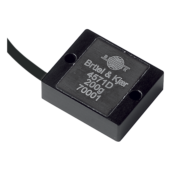 B&K Type 4571 Accelerometer DC Response, 200G, 10 MV/G