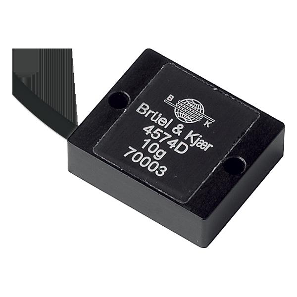 B&K Type 4574  Accelerometer DC Response, 10G, 200 MV/G