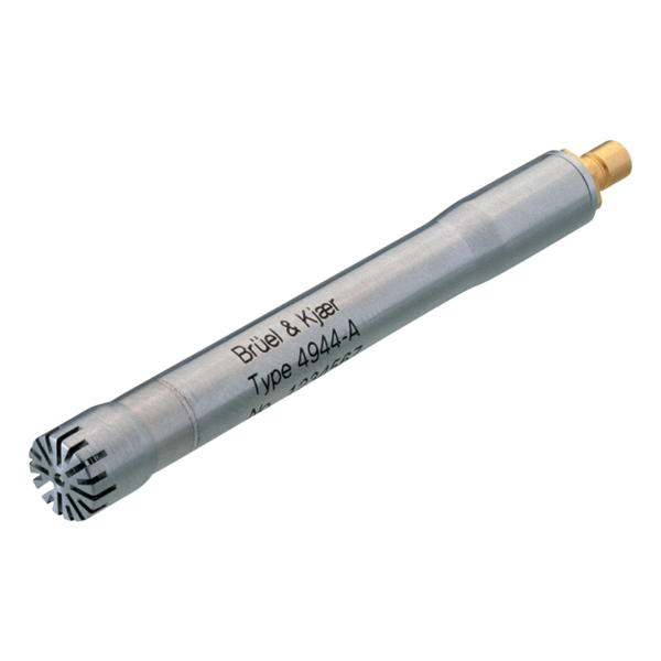 Type 4944-A  ¼-Inch Pressure-Field Microphone, 4 HZ TO 70 KHZ, 1.0 MV/PA