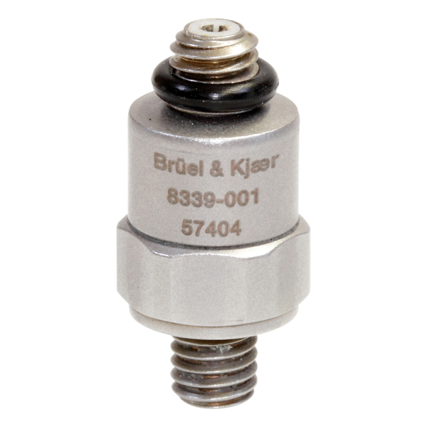 B&K Type 8339-001 CCLD Shock Accelerometer, .1 MV/G, Top Connector, Excl. Cable