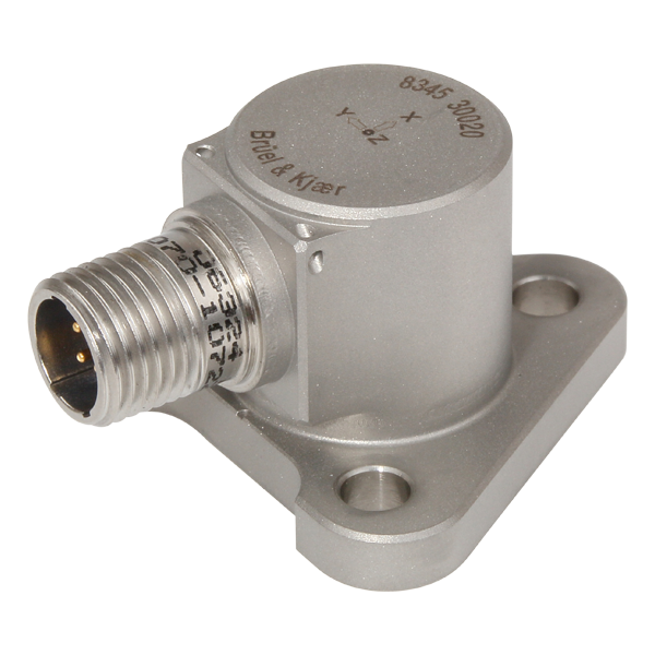 B&K Type 8345 Triaxial CCLD Accelerometer