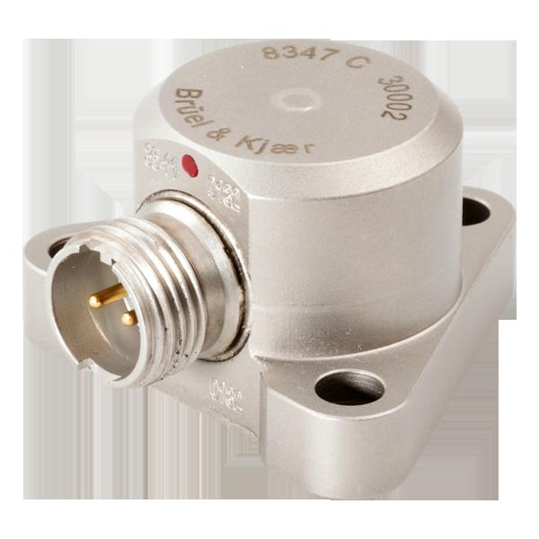 B&K Type 8347-C  Piezoelectric Charge High-Temperature Industrial Accelerometer