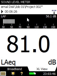 BZ-7130 Sound Level Meter Software For Type 2250 Light