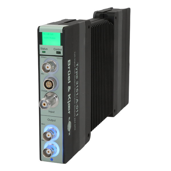 Type 3161 1 Channel Input + 1 Channel Output Module, 204.8 kHz