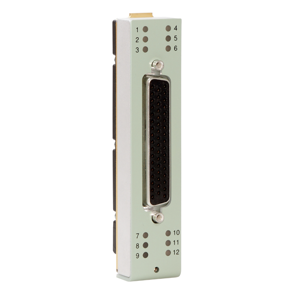 UA-2109  12 Channel Sub-D Connector Front Panel