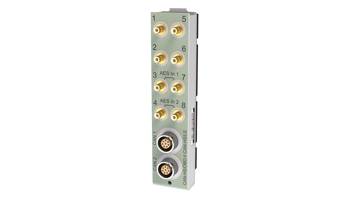 UA-3101  CAN Bus Module Front Panel