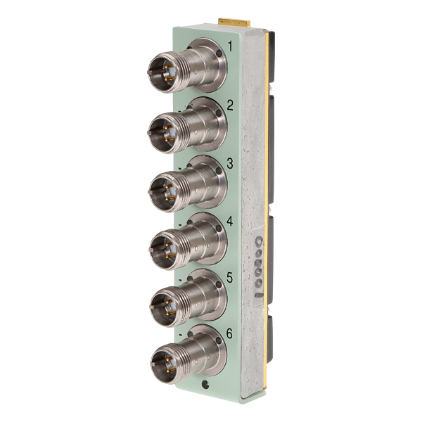 UA-2119  6 Channel Differential Charge Input Front Panel