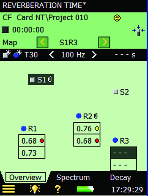 BZ-7227 Reverberation Time Application For Types 2250 And 2270