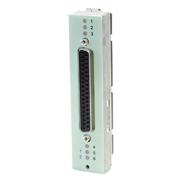 UA-2103  6 Channel SUB-D Connector Front Panel