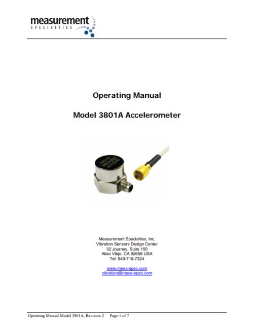 3801A Manual