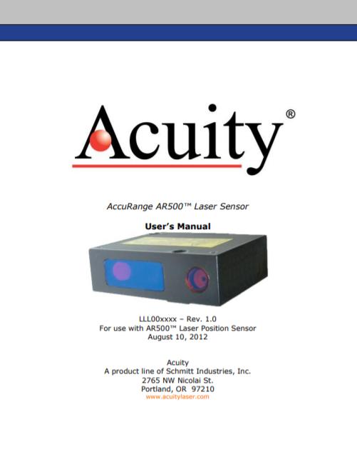 AR500 Laser Manual