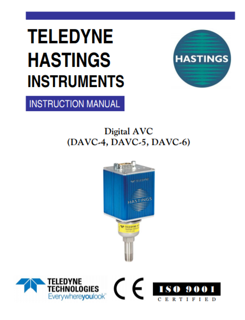 Digital AVC Manual