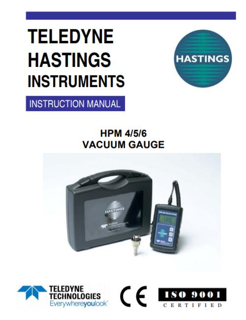 HPM456 Vacuum Gauge