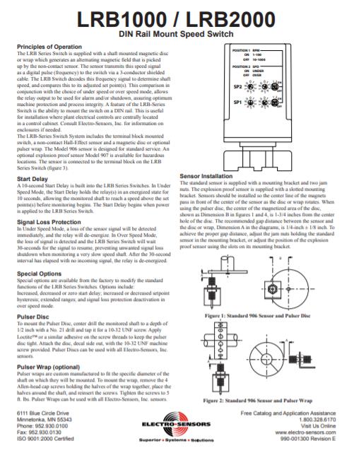 LRB-series Manual