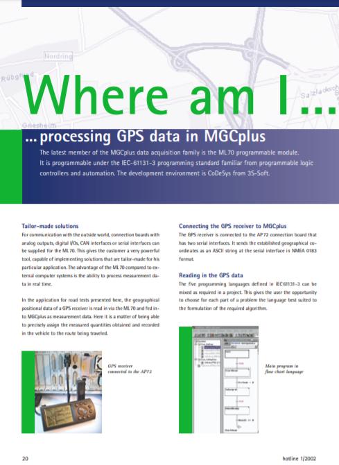 MGC Plus GPS Integration