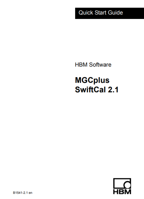 MGCplus SwiftCal Quick Start Guide