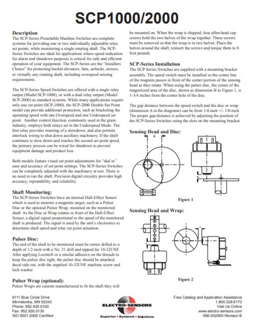 SCP-series Manual