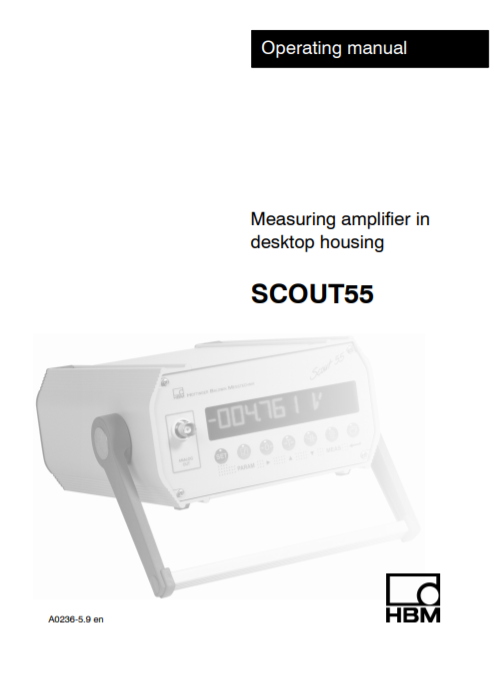 Scout-55 Manual