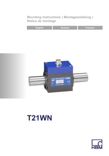 T21WN Installation Guide