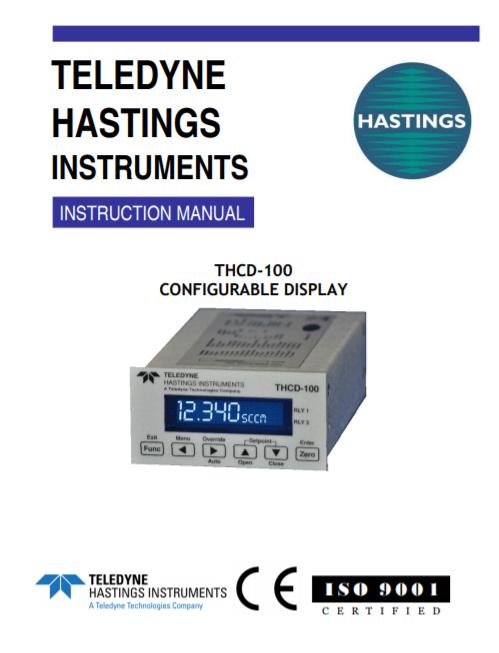 THCD-100 Configurable Display